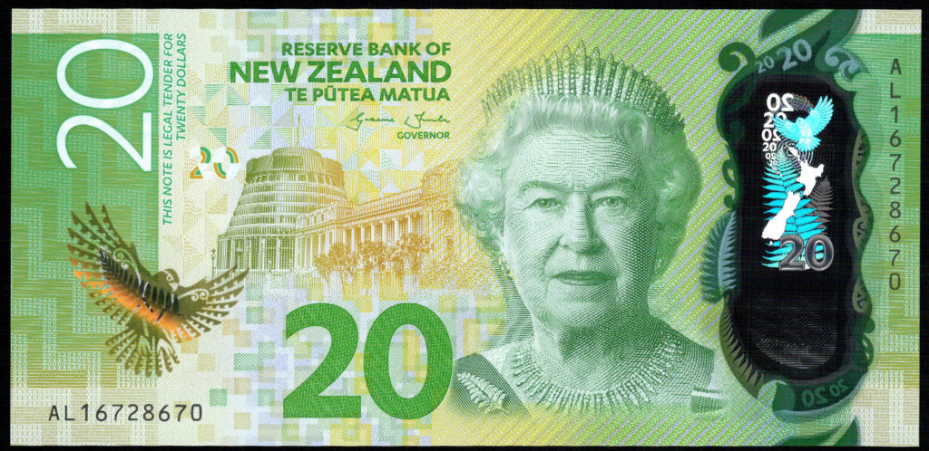 New Zealand Series 7 $20 Note Obverse(72dpi)